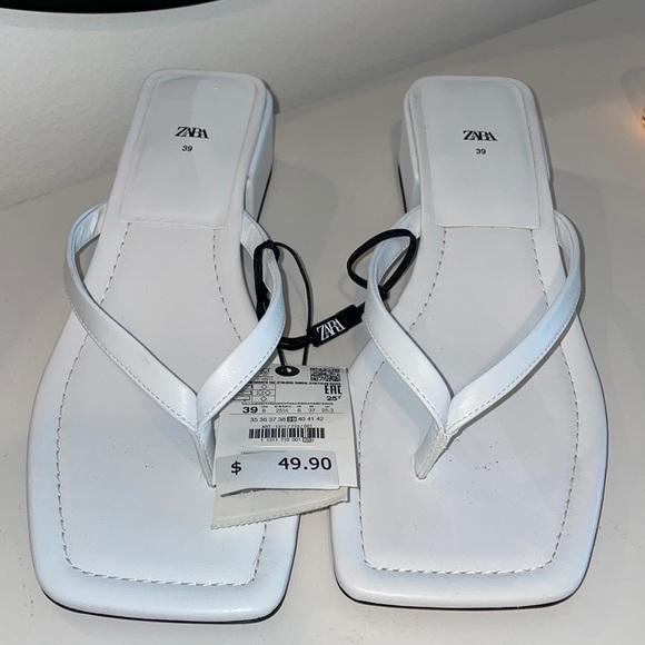 Zara Sandals in White